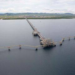 Clough JV constructs Australia's first LNG and Condensate Jetty for Woodside North West Shelf