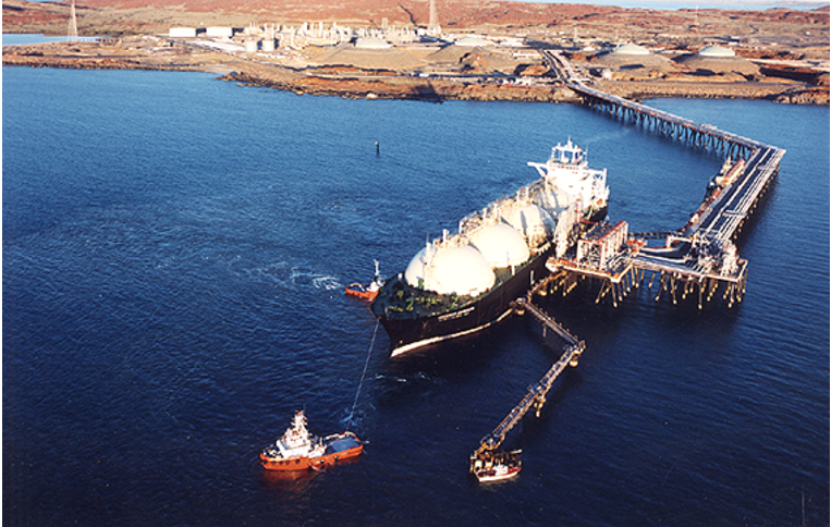 Harbourworks Clough constructs Australia's first LNG and Condensate Jetty for Woodside's North West Shelf Phase 2