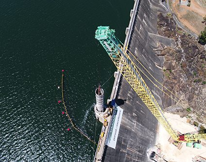 Clough awarded EPC contract for upgrade and refurbishment of existing structures at Mundaring Weir