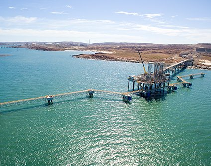 BAM Clough JV awarded the Pluto LNG Jetty project by Woodside